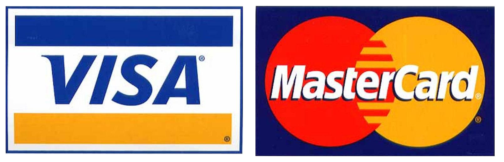 Master visa card logo