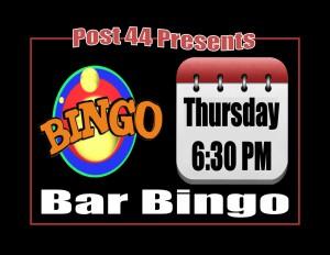 !Bar Bingo