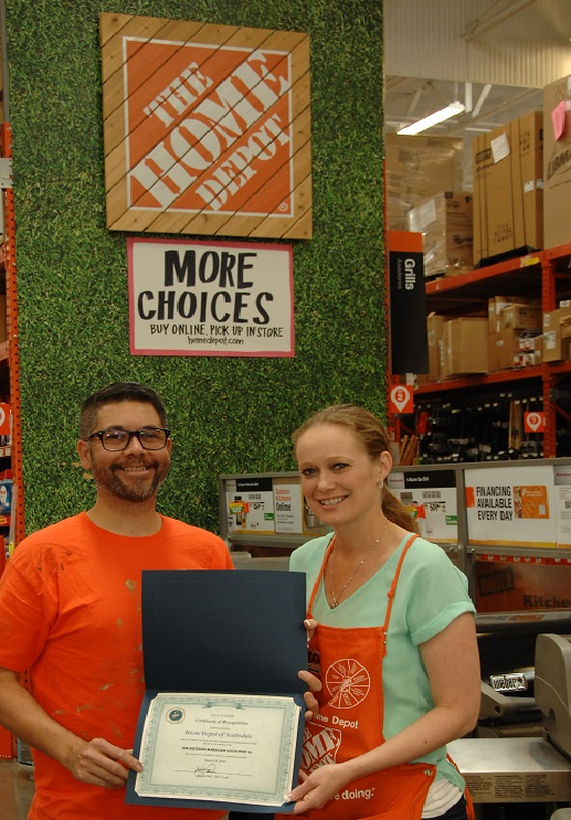 Home Depot Mayor Award 1