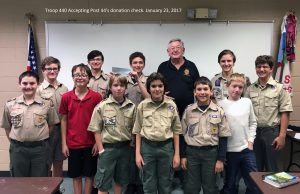 Troop 440 donation presentation Jan 2017 with text