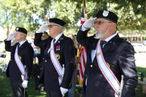 Memorial Day ceremony at Scottsdale City Hall, May 31, 2021.